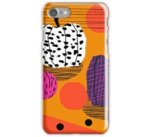 Yar - pumpkin halloween fall autumn throwback retro style fashion urban trendy 1980s 1980 80s 80's iPhone Case/Skin