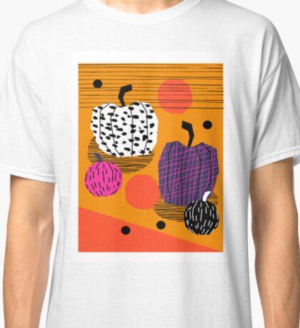 Yar - pumpkin halloween fall autumn throwback retro style fashion urban trendy 1980s 1980 80s 80's Classic T-Shirt
