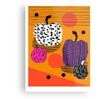 Yar - pumpkin halloween fall autumn throwback retro style fashion urban trendy 1980s 1980 80s 80's Metal Print