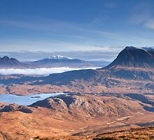 Cul Mor and Suilven by CliffGreen