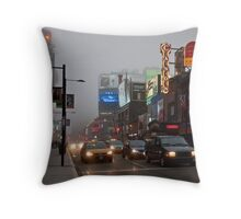 The Night of the Fog Throw Pillow