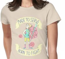 Pearl - Born To Fight Womens Fitted T-Shirt