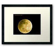 Cinco De Mayo Luna Framed Print