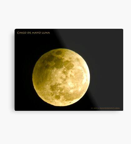 Cinco De Mayo Luna Metal Print