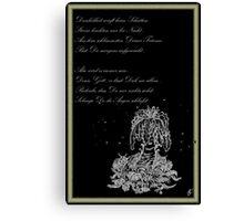 Kleiner Trost - Traumland Palme Canvas Print