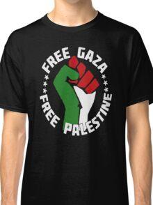 free gaza free palestine Classic T-Shirt