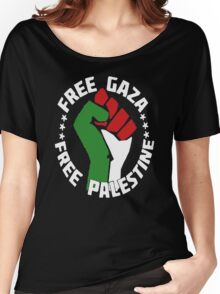 free gaza free palestine Women's Relaxed Fit T-Shirt