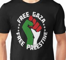 free gaza free palestine Unisex T-Shirt
