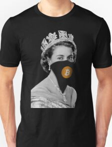 Queen Bitcoin Bandit Geek T-Shirt