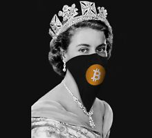Queen Bitcoin Bandit Geek Unisex T-Shirt