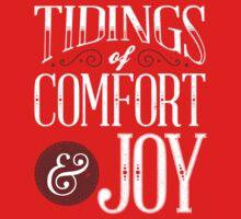 Tidings of Comfort & Joy Kids Tee