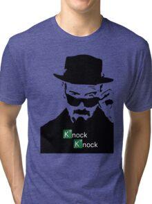 Breaking Bad Knock Knock Tri-blend T-Shirt