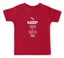 Nerd On - BSG, Trek, Potter, Hobbit Shirt Kids Tee