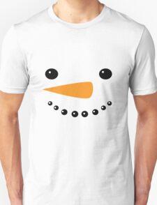 Snowman Face, Snowman, Christmas Snowman T-Shirt