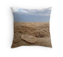 Earth, Sand and Peace Throw Pillow