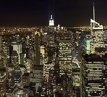 New York - Panoramic  by Alexandre Manuel