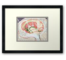 Opening (abstract) Framed Print