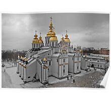 St. Michael's Cathedral, Kiev, Ukraine Poster