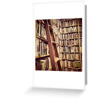 Lost in a Library Greeting Card
