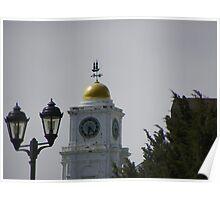 Town clock needs repair Poster