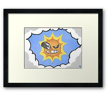 A Trip to the Sun Framed Print