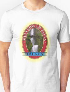 Multnomah Falls Columbia River Gorge Oregon Unisex T-Shirt