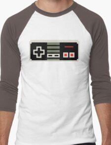 8 bit NES controller Men's Baseball ¾ T-Shirt