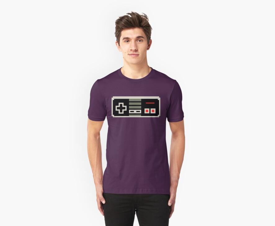 8 bit NES controller by PlatinumBastard