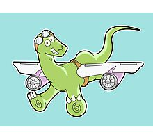 When Dinosaurs Fly! Photographic Print
