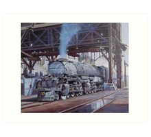 Union Pacific Big Boy. Art Print