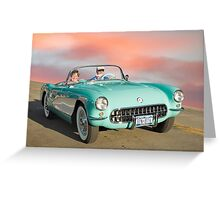 Classic Vette Greeting Card