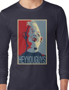 """Sloth from The Goonies - """"Hey You Guys"""" Long Sleeve T-Shirt"""