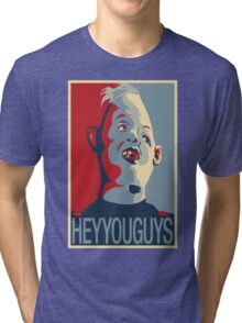 "Sloth from The Goonies - ""Hey You Guys"" Tri-blend T-Shirt"