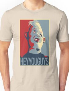 """Sloth from The Goonies - """"Hey You Guys"""" Unisex T-Shirt"""