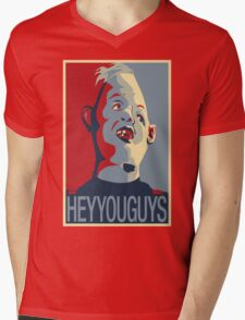 """Sloth from The Goonies - """"Hey You Guys"""" Mens V-Neck T-Shirt"""