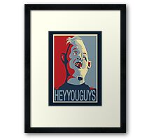 "Sloth from The Goonies - ""Hey You Guys"" Framed Print"