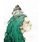 Head box · phone case by Elia Mervi