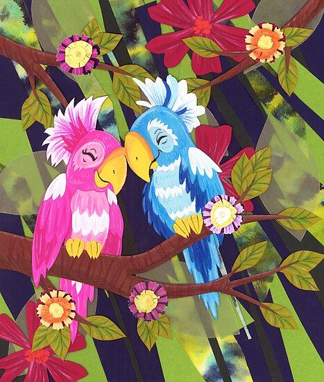 Love Birds by Amanda Kraenzle