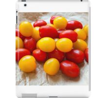 Red and Yellow Cherry Tomatoes iPad Case/Skin