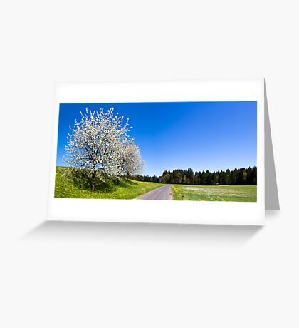 Countryside Spring Greeting Card