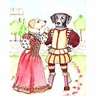 Katherine and Petruchio Labs, Taming of the Shrew by judzart