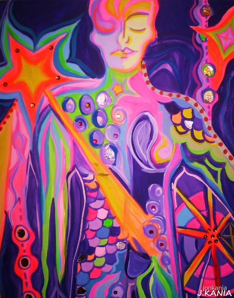 The Searchlight - Visionary art by jonkania