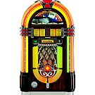 Retro Jukebox iPhone 4/4s case by Jnhamilt