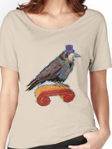 Well Dressed Raven Women's Relaxed Fit T-Shirt