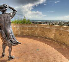 Waiting Women - HMAS Sydney Memorial - Geraldton - WA by Frank Moroni