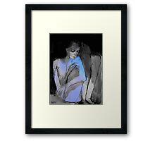 brink Framed Print