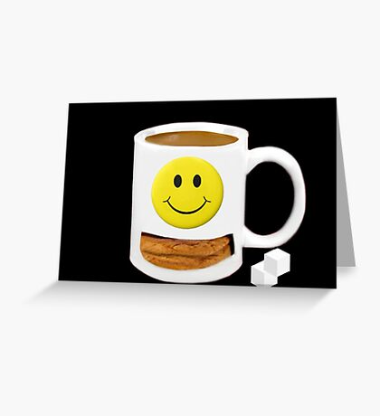 Ѽ  SNACK TIME~COOKIES AND TEA Ѽ   Greeting Card