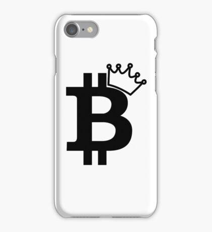Bitcoin King T Shirt iPhone Case/Skin