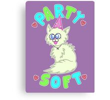 Party Soft Canvas Print