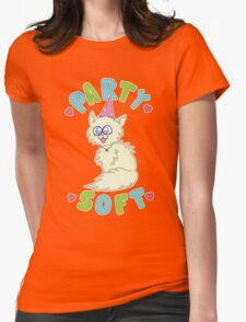 Party Soft Womens Fitted T-Shirt